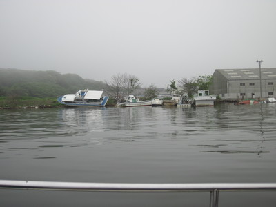 熊野さん 被災地の松島シーネットさんを訪ねる_a0153216_22562265.jpg
