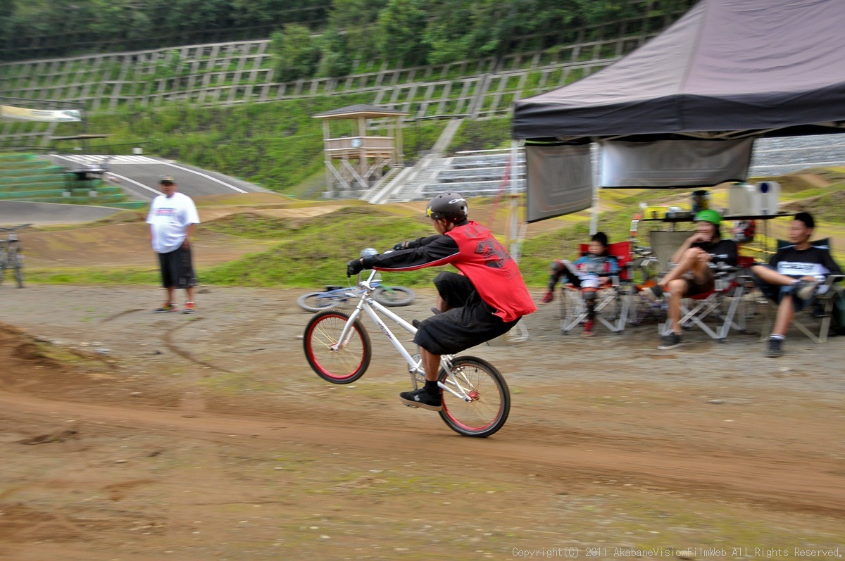 CREDIT camp for kids 2011 VOL4:Day1 BMXライドその2~キャンプナイト_b0065730_15232512.jpg