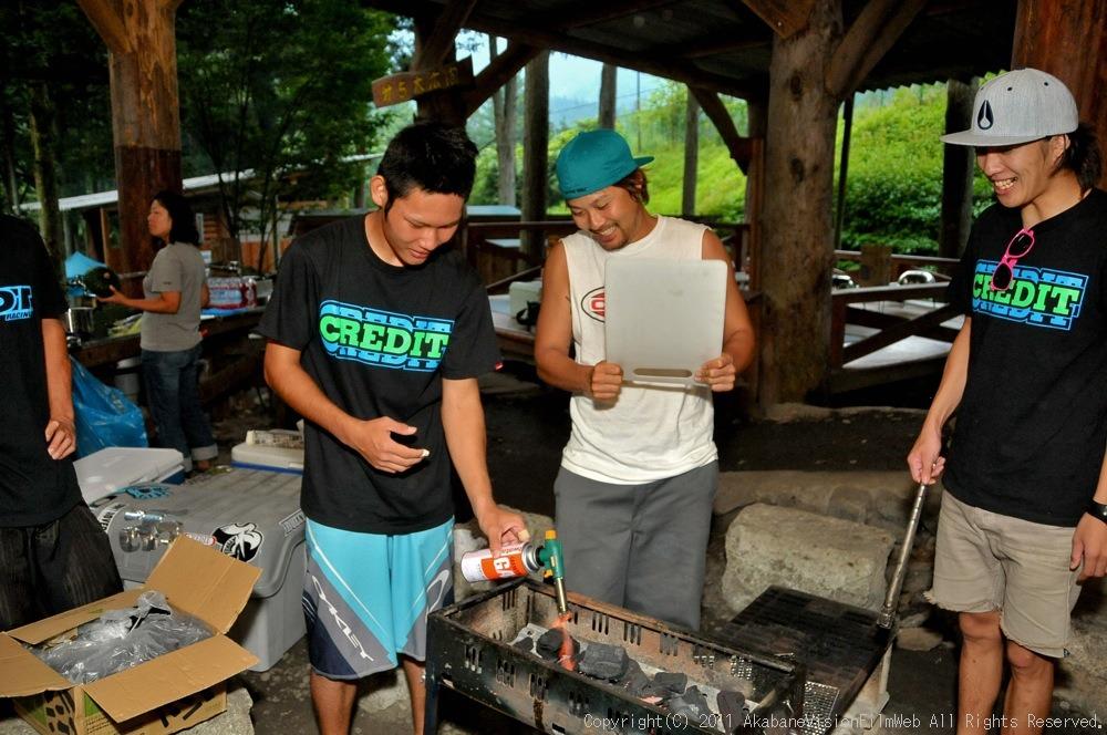CREDIT camp for kids 2011 VOL4:Day1 BMXライドその2~キャンプナイト_b0065730_1534113.jpg