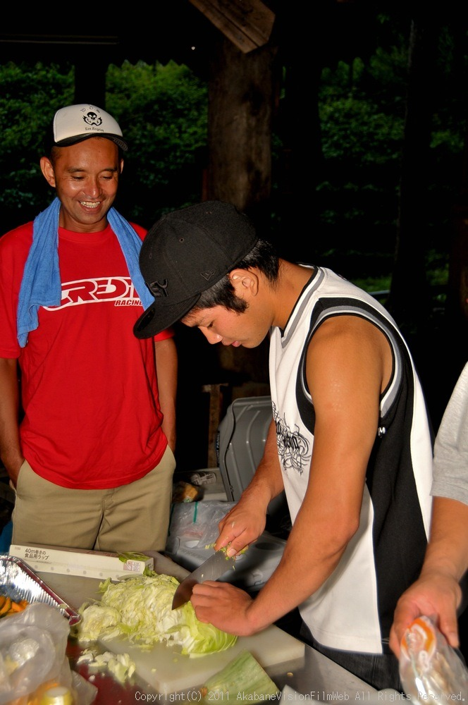 CREDIT camp for kids 2011 VOL4:Day1 BMXライドその2~キャンプナイト_b0065730_15355898.jpg