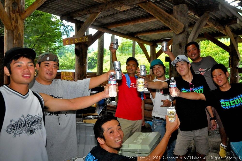 CREDIT camp for kids 2011 VOL4:Day1 BMXライドその2~キャンプナイト_b0065730_1544478.jpg