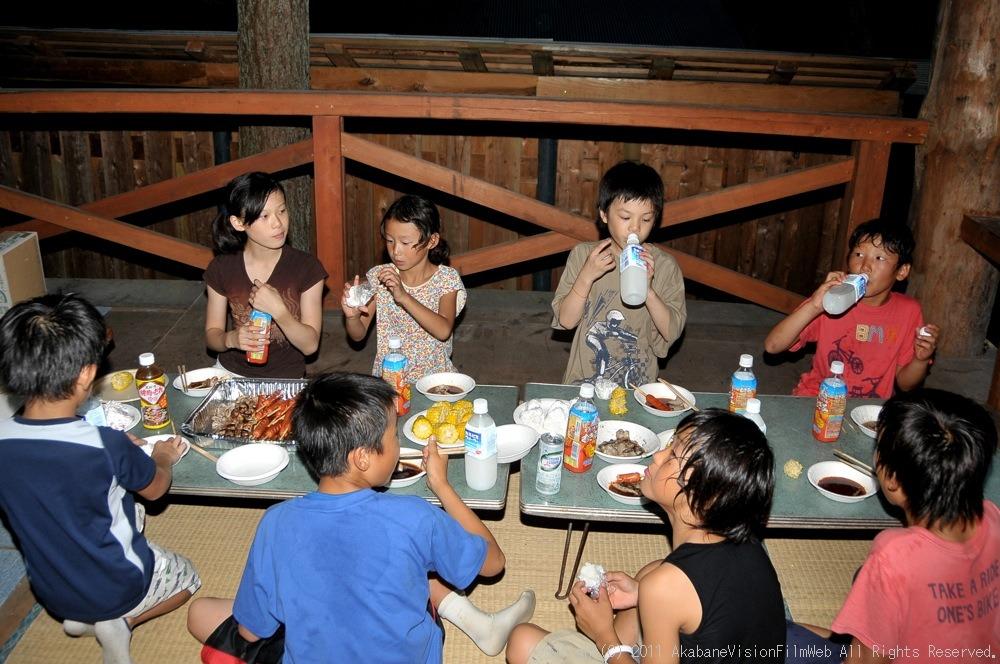 CREDIT camp for kids 2011 VOL4:Day1 BMXライドその2~キャンプナイト_b0065730_1547147.jpg