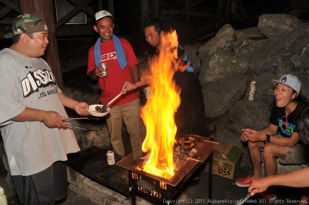 CREDIT camp for kids 2011 VOL4:Day1 BMXライドその2~キャンプナイト_b0065730_1550372.jpg