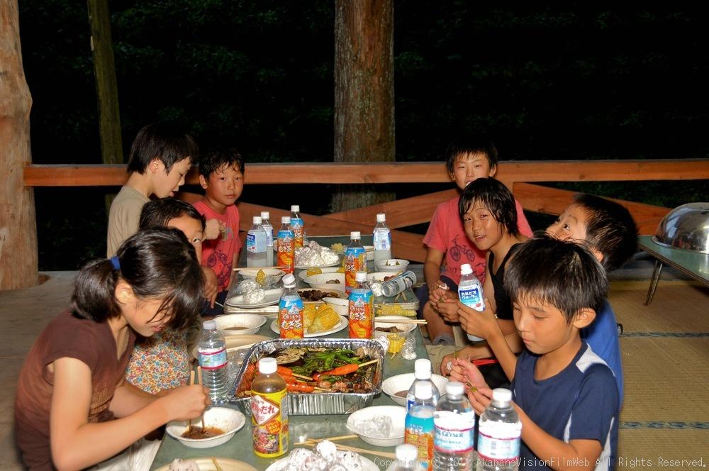 CREDIT camp for kids 2011 VOL4:Day1 BMXライドその2~キャンプナイト_b0065730_15531899.jpg