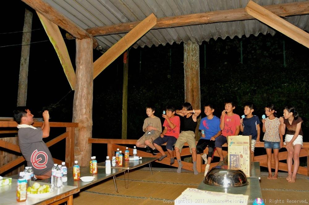 CREDIT camp for kids 2011 VOL4:Day1 BMXライドその2~キャンプナイト_b0065730_15533911.jpg