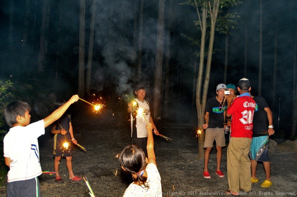 CREDIT camp for kids 2011 VOL4:Day1 BMXライドその2~キャンプナイト_b0065730_1556653.jpg