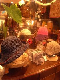 黒田真琴さんの帽子が届きました_a0077752_1337333.jpg