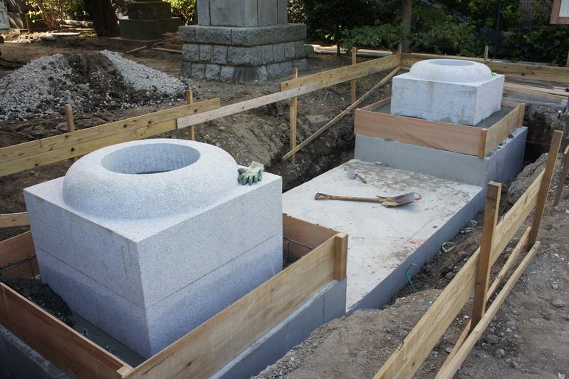 松戸神社 参道改修工事  2011.8.30_e0223769_21283485.jpg