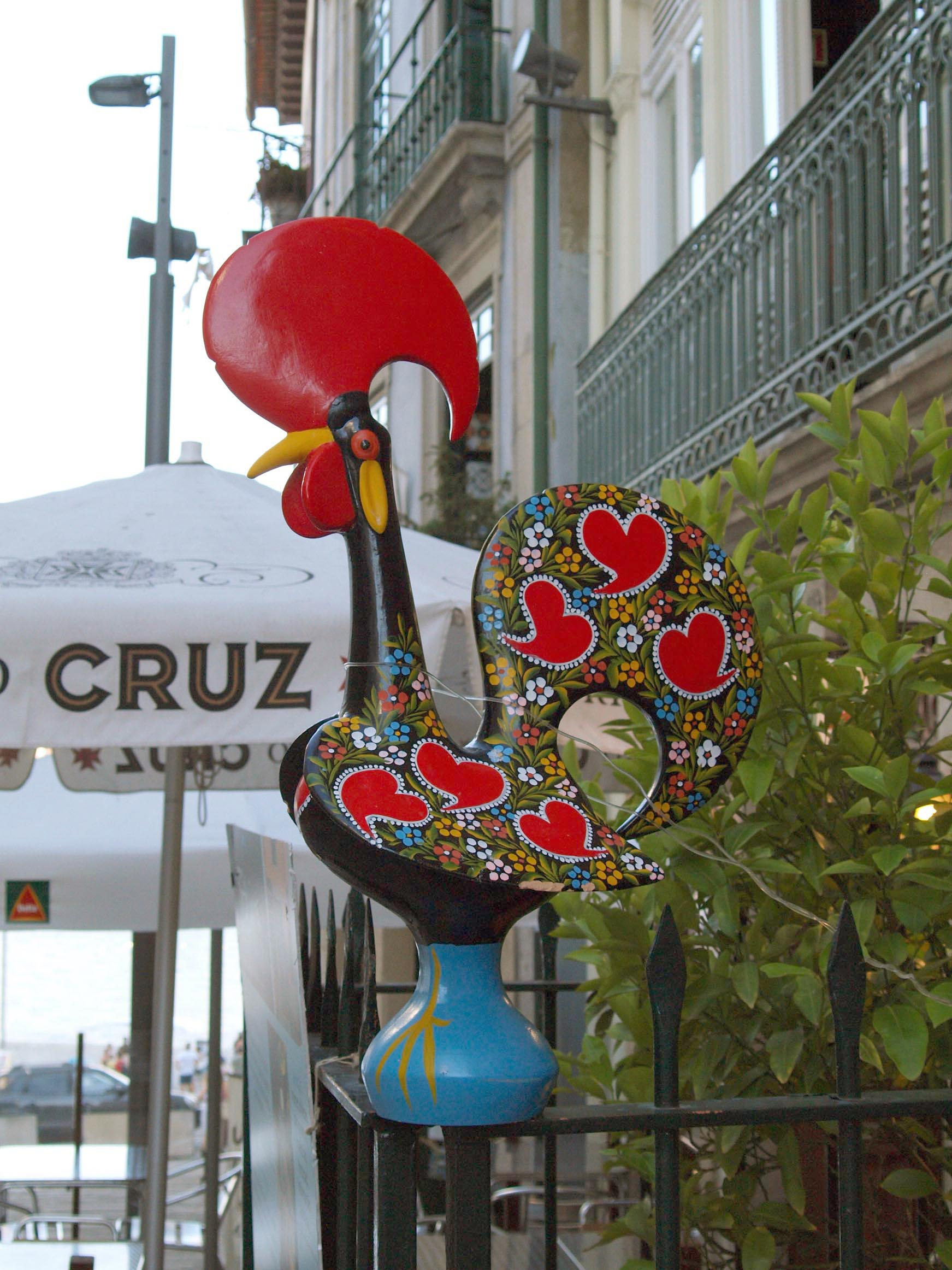 ポルトガル紀行ーーバルセロスの雄鶏伝説_c0179785_671563.jpg