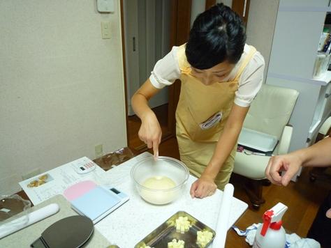 Happy Bakery~ パン教室♪_e0123286_15203061.jpg