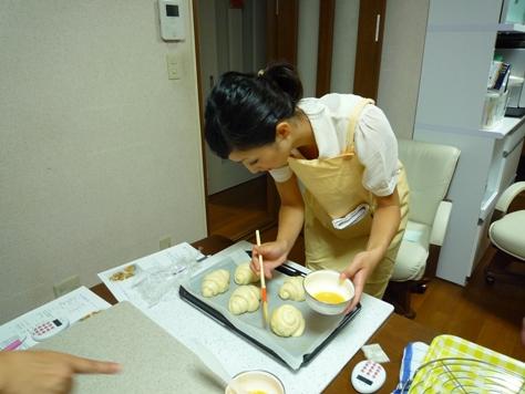 Happy Bakery~ パン教室♪_e0123286_1535954.jpg