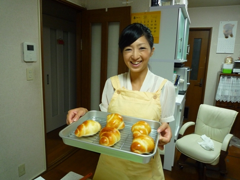Happy Bakery~ パン教室♪_e0123286_15363377.jpg