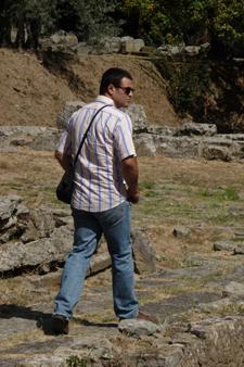 ローマ人の気持ちとローマ古代劇場跡~フィエーゾレ_f0106597_2495640.jpg