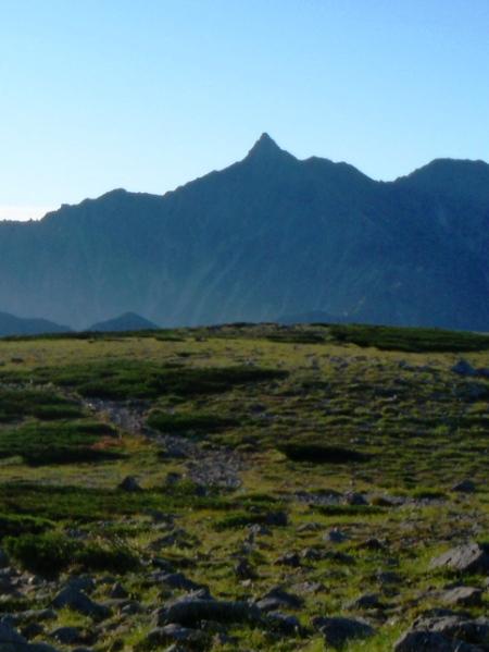 北アルプス2011夏④-双六岳_c0177814_14174913.jpg