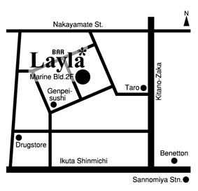 Bar Layla の地図_c0161915_15502551.jpg