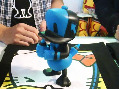 Shonの留之助限定Cap Duck、開店5周年に間に合いそう。_a0077842_1958756.jpg