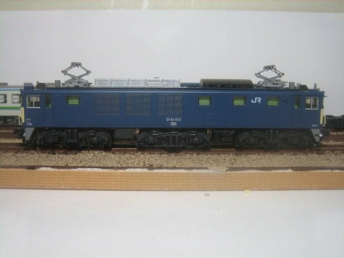 KATO EF64-1031長岡車両センターをイジる_e0120143_052325.jpg