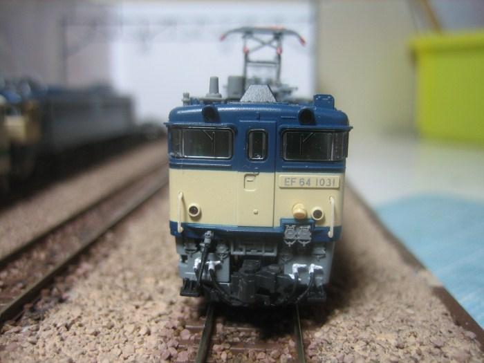 KATO EF64-1031長岡車両センターをイジる_e0120143_053353.jpg