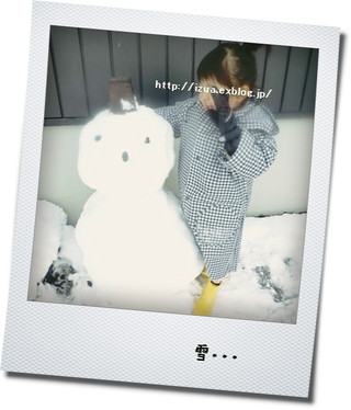 雪だるま_e0214646_23505592.jpg