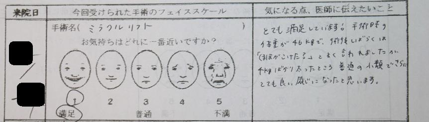ミラクルリフト術後10か月 : 脇山先生_d0092965_0131177.jpg