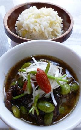 豚肉とニンニクの芽炒め_e0148373_225915.jpg