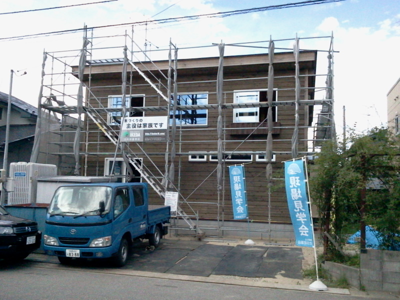 S様邸「広面川崎の家」施工中建学会です。_f0150893_1359229.jpg