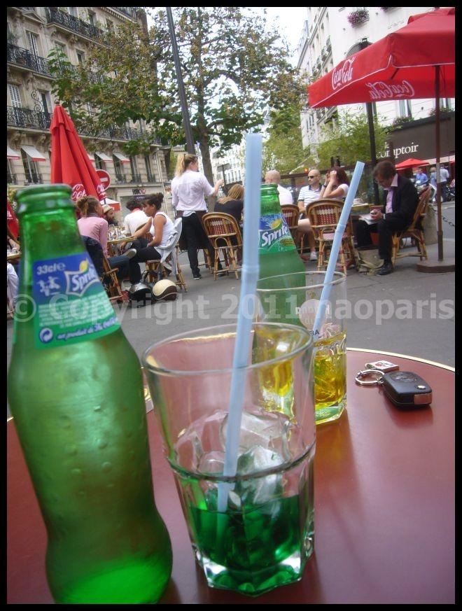 【HORSE\'TAVERN】午後のお茶(オデオン界隈)PARIS_a0014299_18265250.jpg