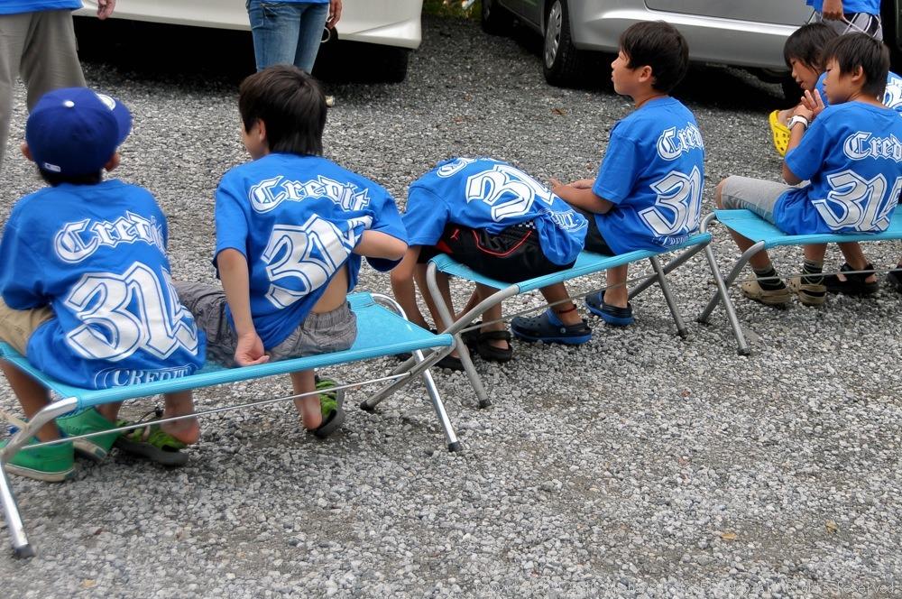 CREDIT camp for kids 2011VOL10:Day3カヌーライドその3クリフジャンプ〜帰還_b0065730_9143131.jpg