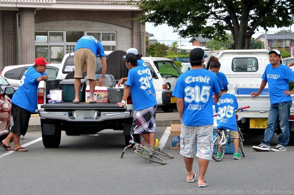 CREDIT camp for kids 2011VOL10:Day3カヌーライドその3クリフジャンプ〜帰還_b0065730_9172018.jpg