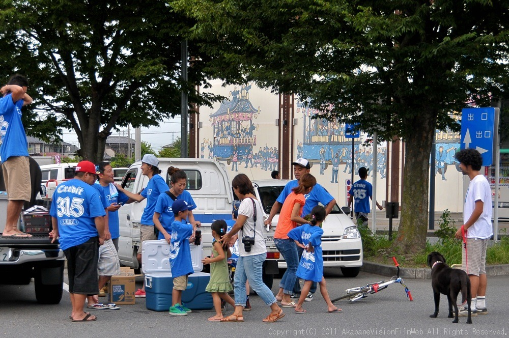 CREDIT camp for kids 2011VOL10:Day3カヌーライドその3クリフジャンプ〜帰還_b0065730_919227.jpg