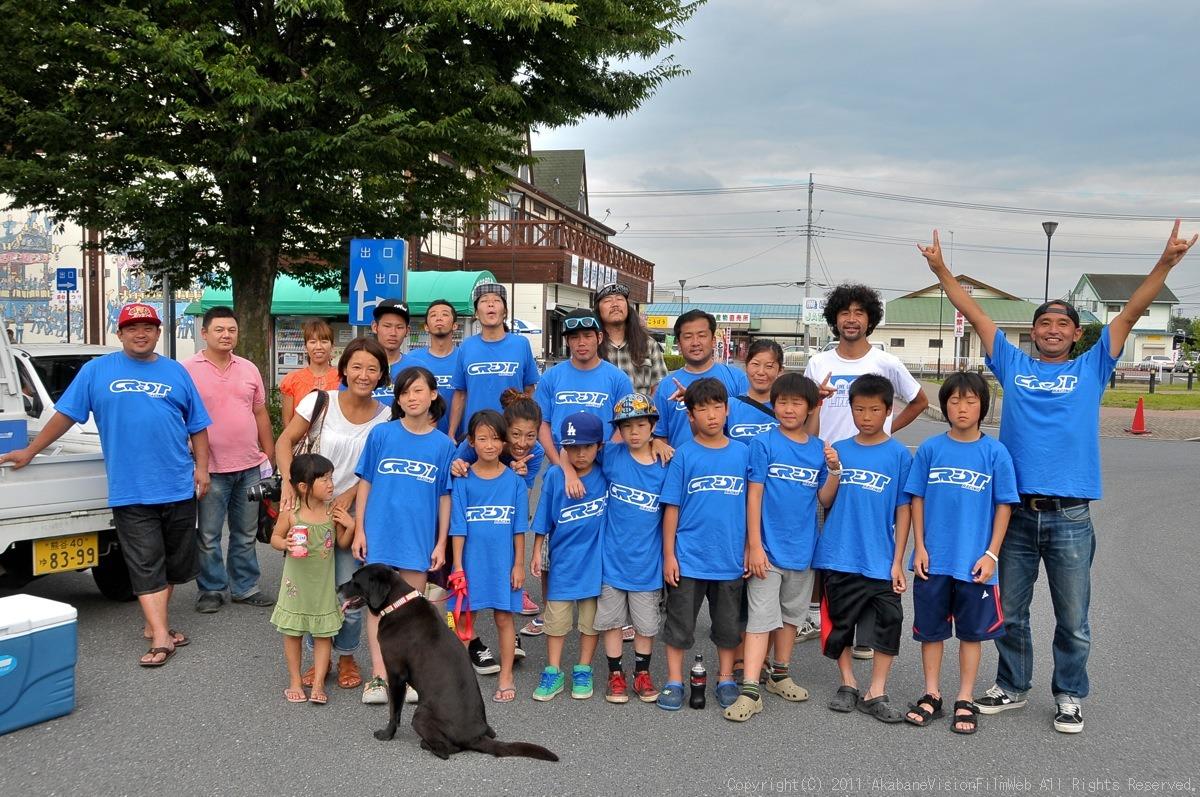 CREDIT camp for kids 2011VOL10:Day3カヌーライドその3クリフジャンプ〜帰還_b0065730_9202593.jpg