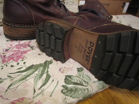 DOVER の続きは、ブーツたちです。_c0227633_22334151.jpg