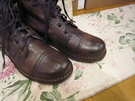 DOVER の続きは、ブーツたちです。_c0227633_22352888.jpg