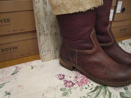 DOVER の続きは、ブーツたちです。_c0227633_22375812.jpg