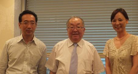 日本におけるがん治療の権威、そして統合医療の第一人者☆Seminar☆_f0094800_0244915.jpg