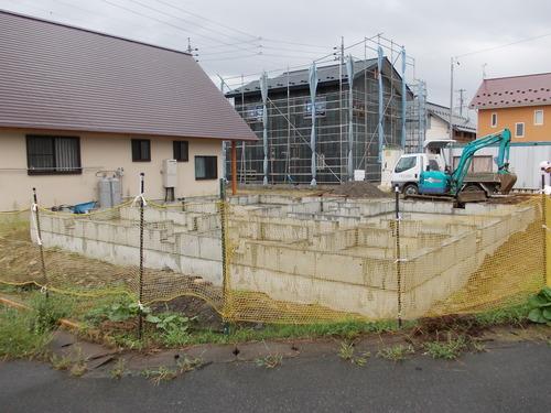 豊科H邸基礎工事完了_c0218716_1838396.jpg