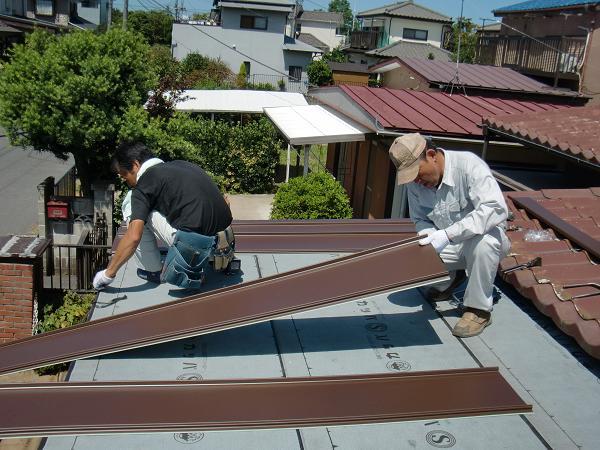 増築工事 ~ 屋根工事_d0165368_7301637.jpg