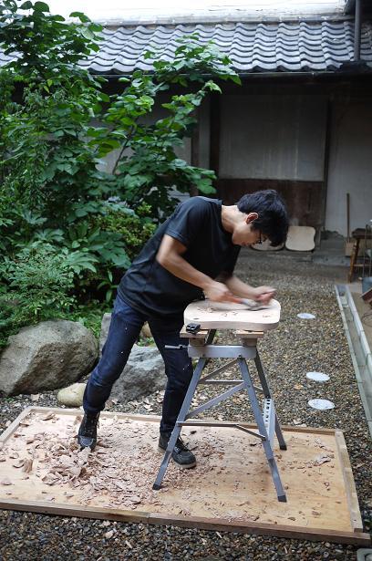 椅子製作_f0226293_2111044.jpg