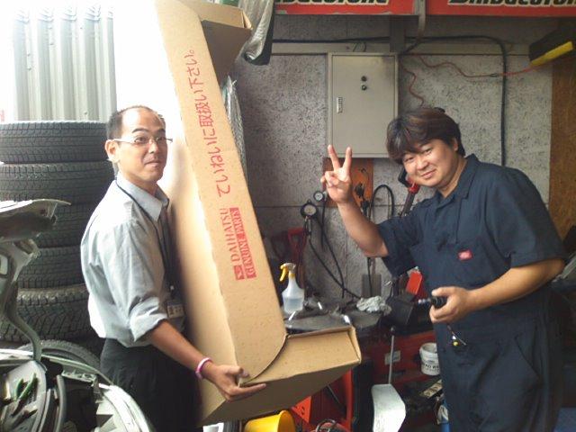 店長のニコニコブログ!休み明けのトミーモータース!_b0127002_21515323.jpg