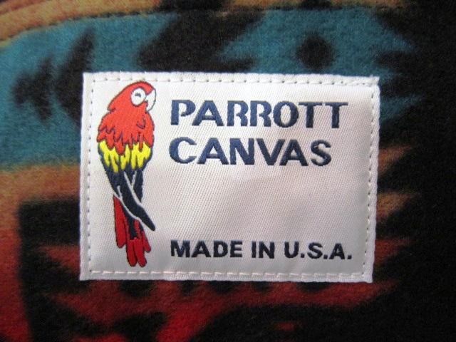 """PARROTT CANVAS \""""FANNY PACK 【POLAR FLEECE】\"""" ご紹介!_f0191324_9452649.jpg"""