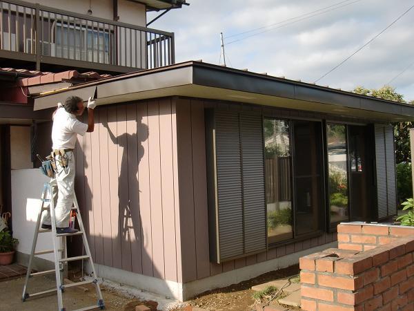 増築工事 ~ 屋根・外壁工事_d0165368_7452912.jpg