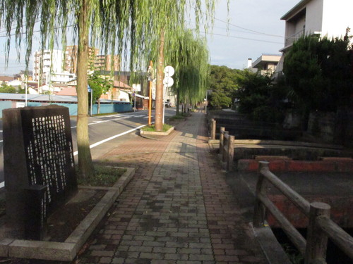 水辺の文学碑の石碑 《水の都・三島市水上通り》(9)_c0075701_20535185.jpg