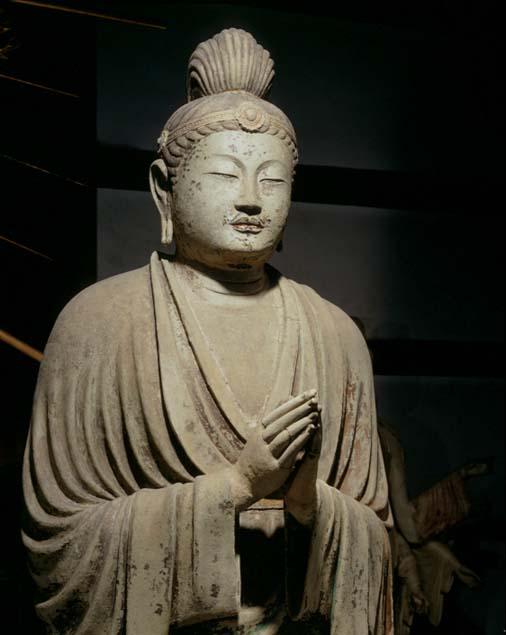 東大寺・月光菩薩立像 : 【仏顔...