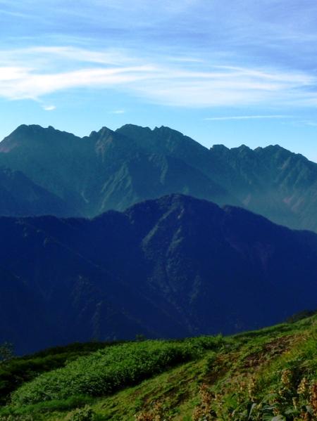 北アルプス2011夏⑨-抜戸岳_c0177814_11194116.jpg