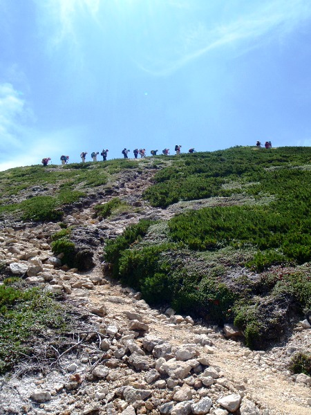 北アルプス2011夏⑨-抜戸岳_c0177814_11212456.jpg