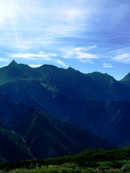 北アルプス2011夏⑨-抜戸岳_c0177814_1121914.jpg