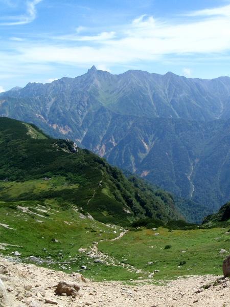 北アルプス2011夏⑨-抜戸岳_c0177814_11264886.jpg