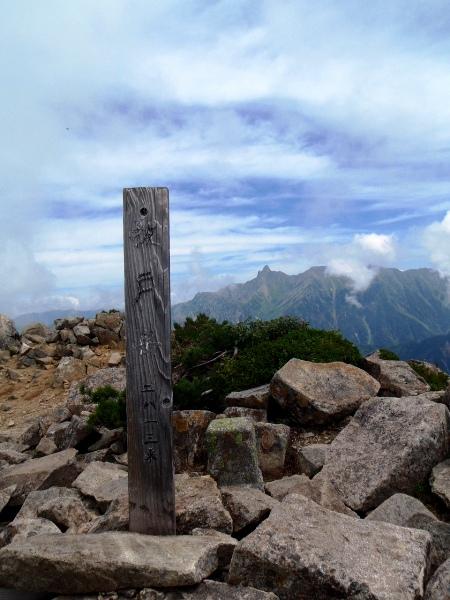 北アルプス2011夏⑨-抜戸岳_c0177814_11273176.jpg