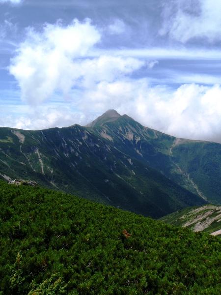 北アルプス2011夏⑨-抜戸岳_c0177814_118982.jpg