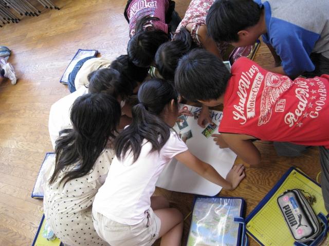 万代長嶺小学校において異文化理解ワークショップを行いました。_c0167632_1747289.jpg